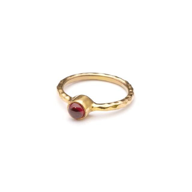 SINGLE PETIT STONE NON-ADJUSTABLE RING 074