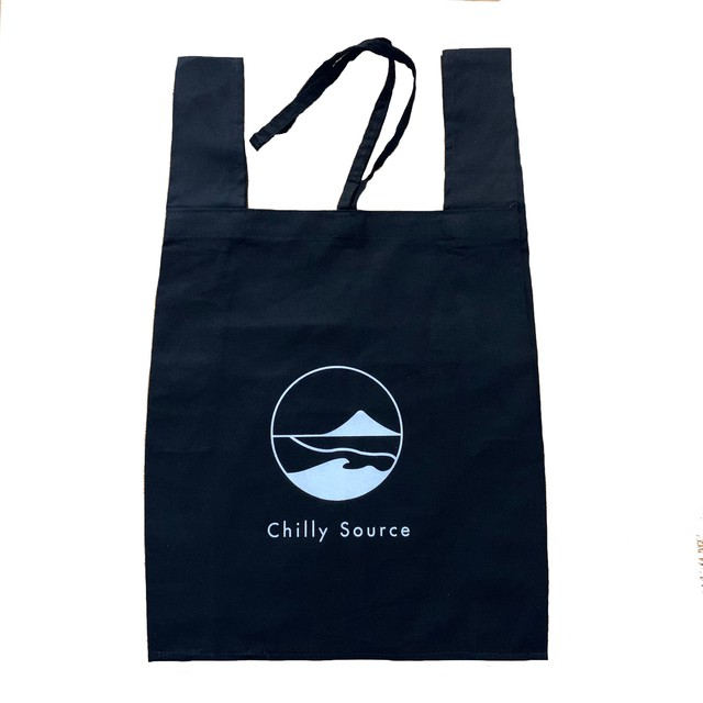 Chilly Source Logo Eco Bag 【Black】