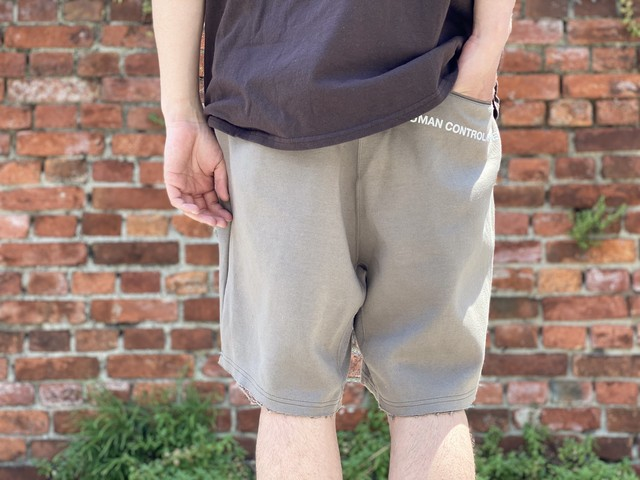 UNDER COVER C/P SWEAT SHORT 2 BRAIN WASHED GENERATION 30JE6239