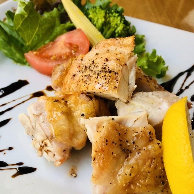 国産若鶏のグリル 特製バルサミコソース ミニサラダ付き