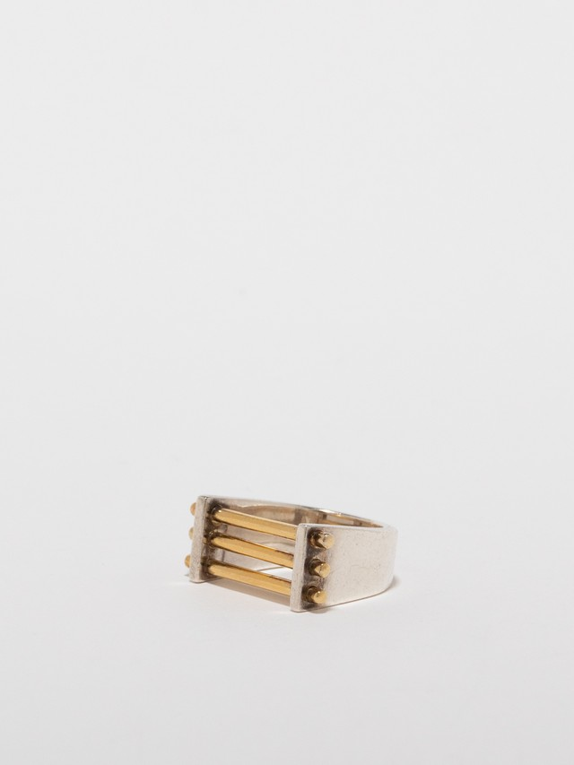 Gold Bar Ring / Tane Mexico