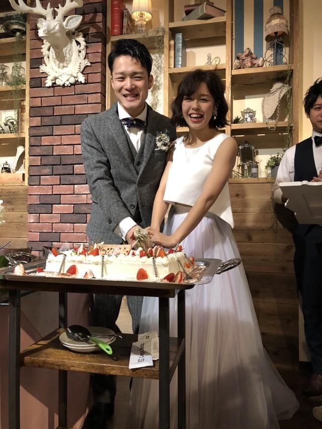 Confetti\ Bride♡Vカットアレンジのシフォンセパレートドレス