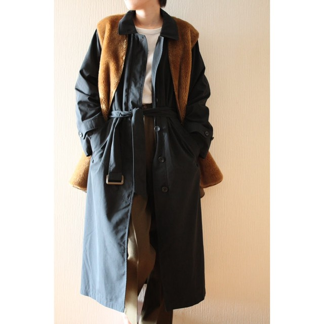 Vintage soutien collar coat by L.L.Bean