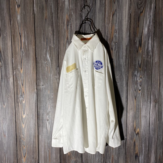 [used]American patch shirt