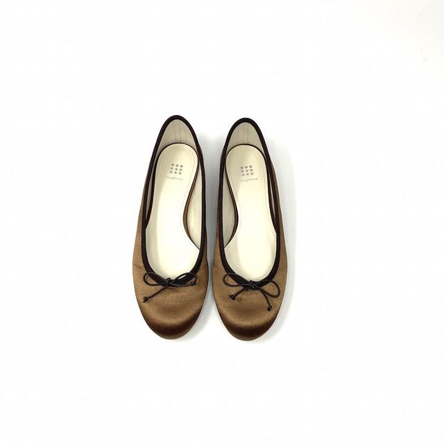 Satin Flat Balle shoes|サテンフラットバレエ #ot4100|【Ought=na】|madeinjapan|日本製