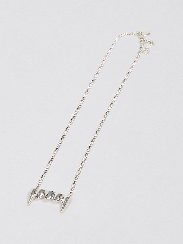 P.A.M. (Perks And Mini) / U.G. P.A.M. ORIGINAL FANGS NECKLACE SILVER