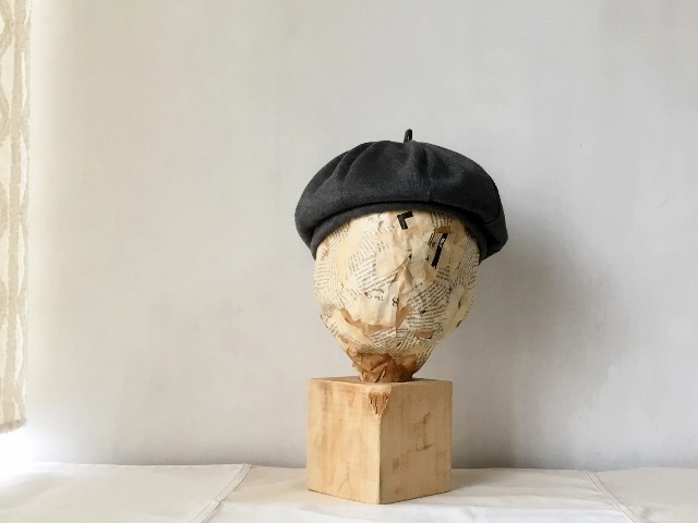BERET|CHACOAL【S】56.0/【M】59.0