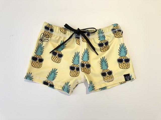 【20SS】BEACH&BANDITS -  / Panky pineapple swimshort (yellow) 水着 スイムウェア