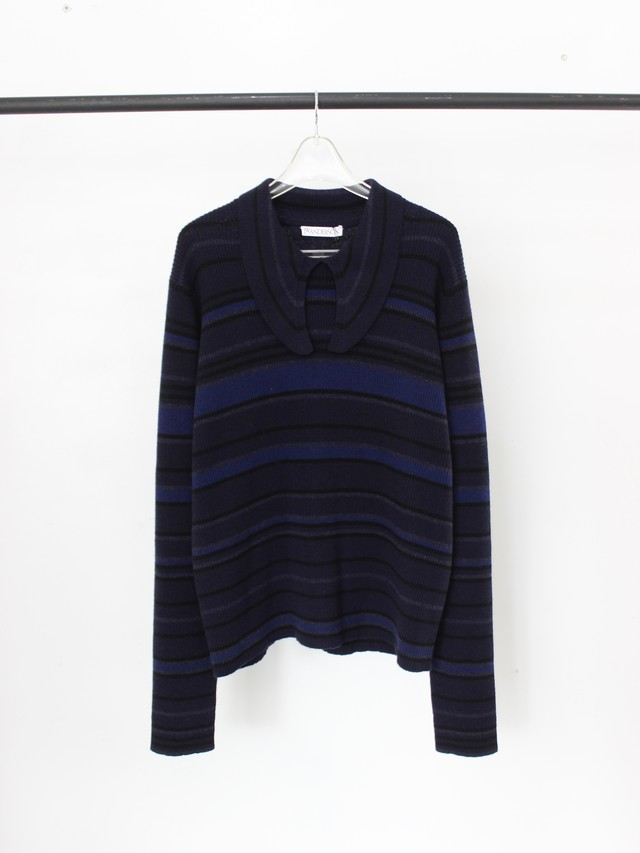 Used J.W ANDERSON Border Knit Polo