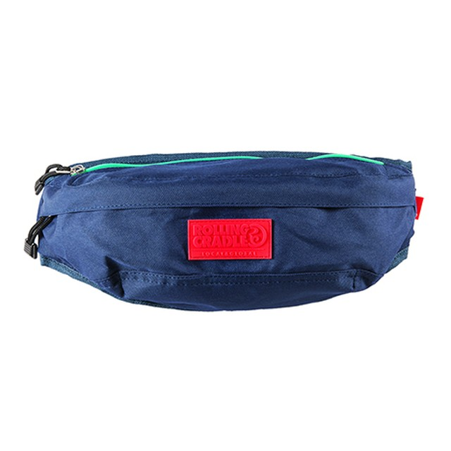 【ROLLING CRADLE | ロリクレ】COMFY POUCH / Navy