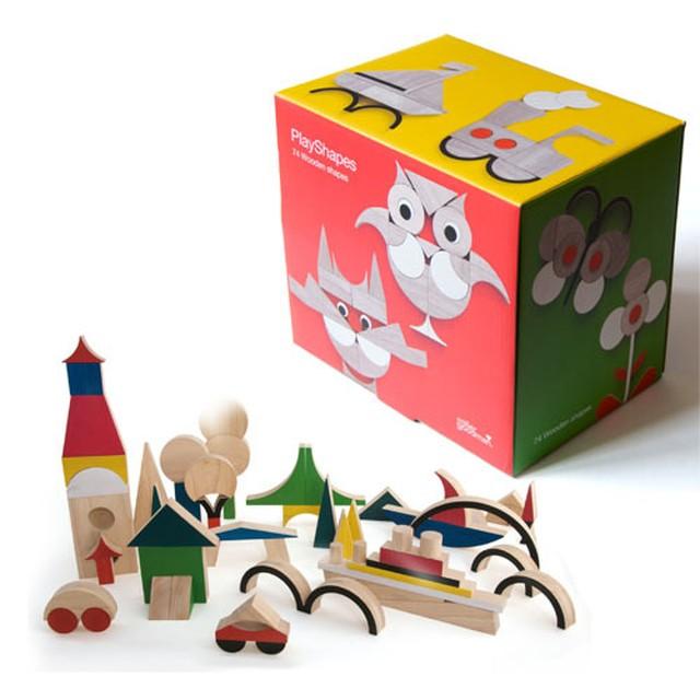 miller goodman(ミラーグッドマン) play shapes 積み木 出産祝い