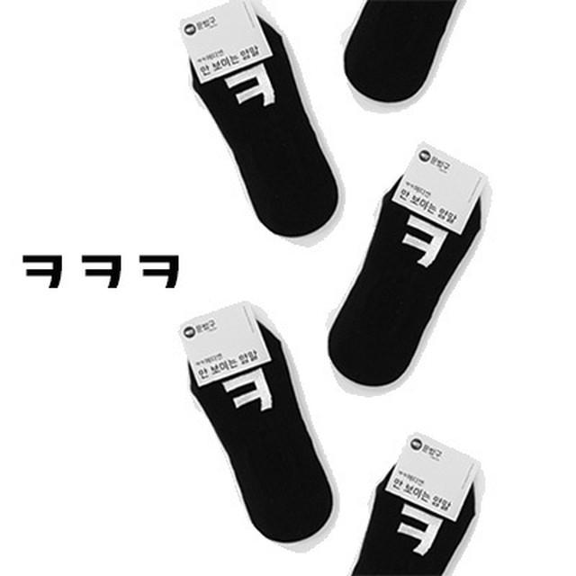新製品【ペダレミンジョ】ㅋㅋㅋ靴下