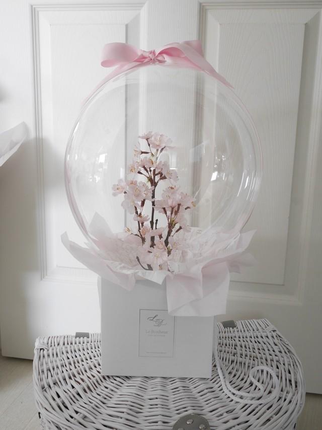 フラワーバルーンBOX(桜)