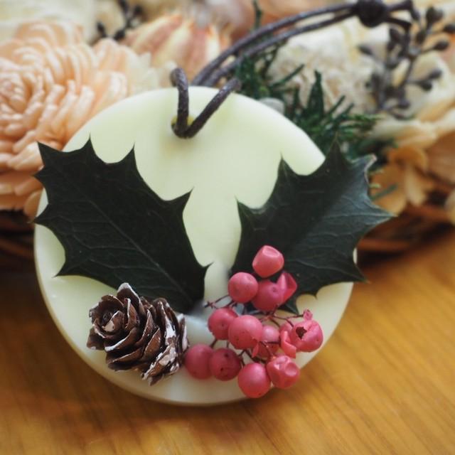 【wisterio+aroma】アロマワックスサシェ・クリスマス①