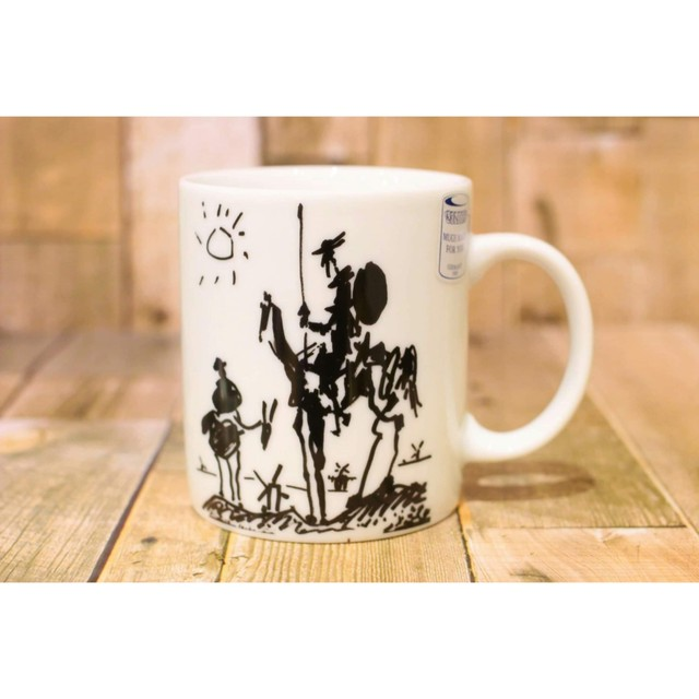 Picasso Corrida ドン・キホーテ  【artマグカップ】   浜松雑貨屋C0pernicus