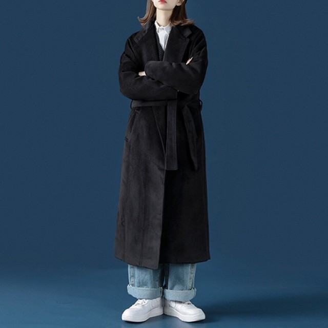 simple long coat PD2340