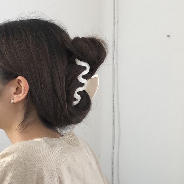 wavy hair clip(3 colors)