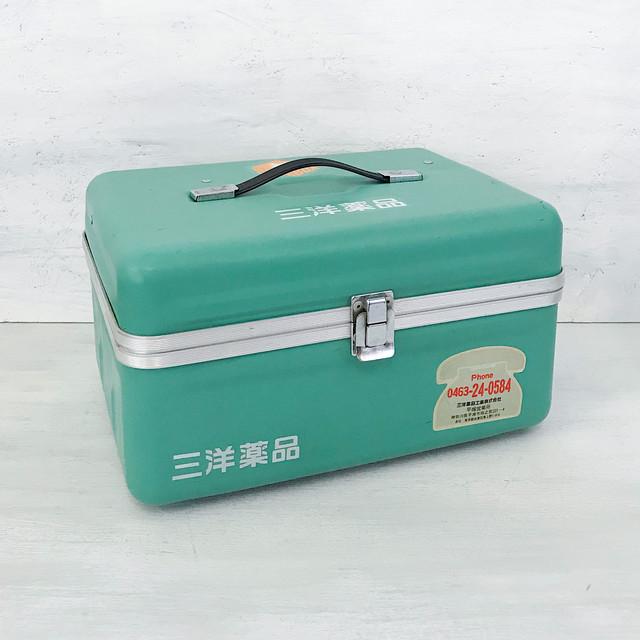 【R-596】三洋薬品レトロ置き薬箱