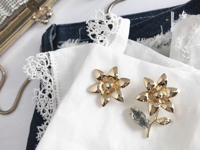 Joyeux <gold x snowflake> 3pcs set