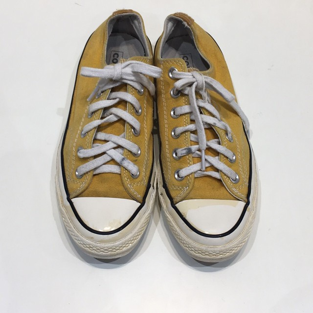 "USED ""  CONVERSE Chuck Taylor 70s [CT70] sunflower OX  """