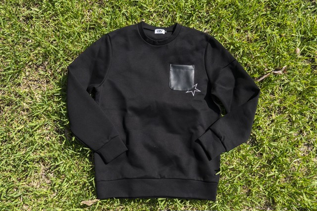 【small logo  sweat】/ black