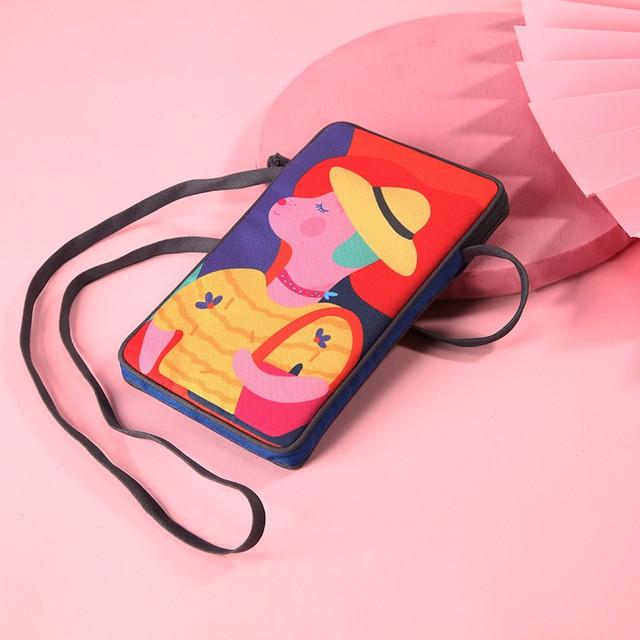【予約商品】 【Pink Family シリーズ】 7.9''多機能バッグ(タブレットバッグ)