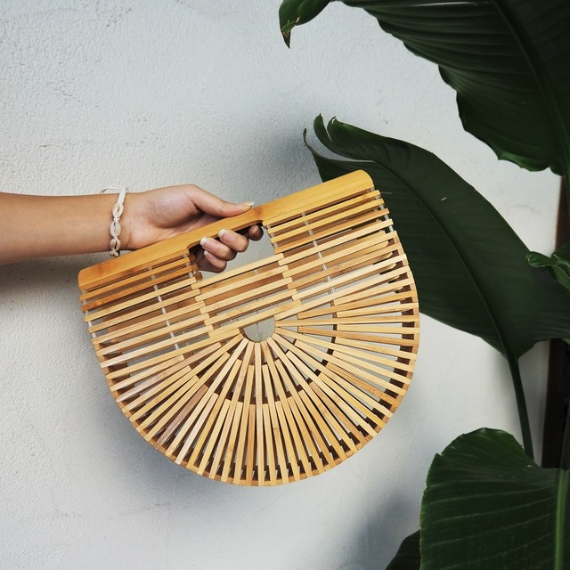 Bamboo Bag M《BEG》18380675