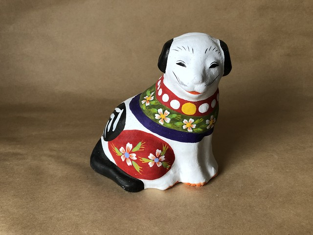 [NEW]花巻人形工房|花巻人形「狗(中)」