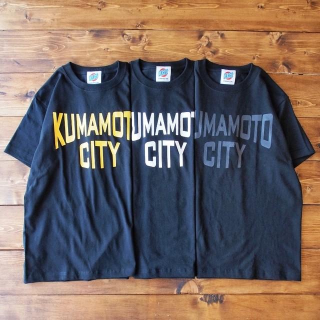 """【DARGO】""""KUMAMOTO CITY"""" T-shirt (BLACK 3色)"""