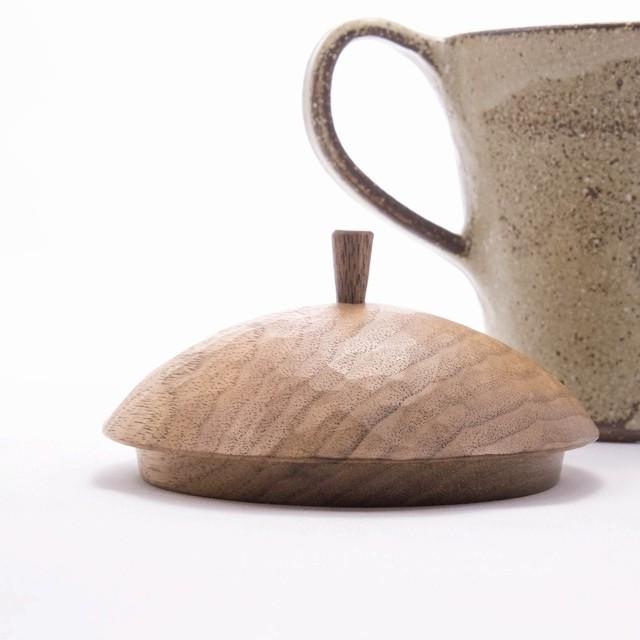 mego 木のふたもの マグ rust 【陶器】20210805-03