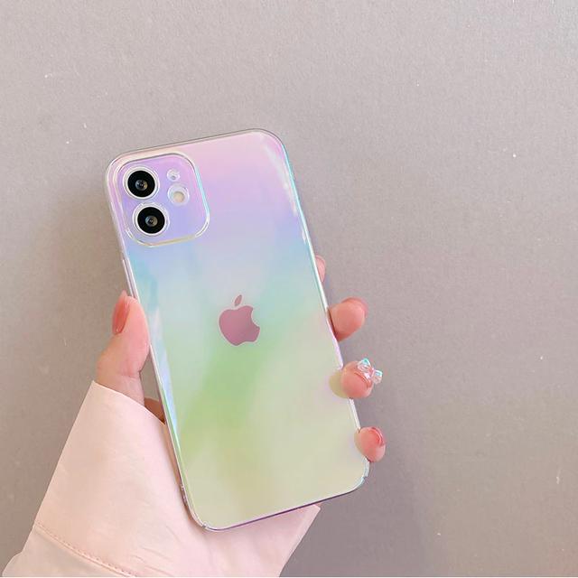 Summer rainbow iphone case