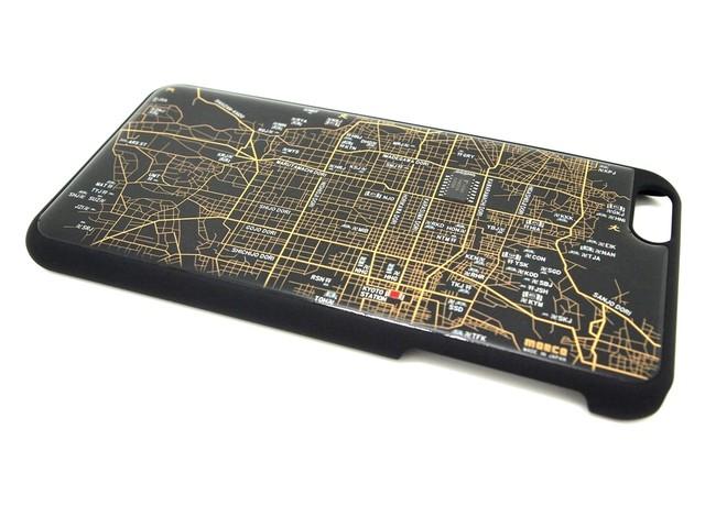 京都回路地図 iPhone6 Plusケース 黒【LEDは光りません】【東京回路線図A5クリアファイルをプレゼント】
