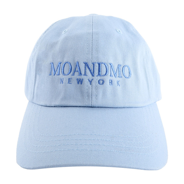 MOANDMO LOGO Twill Dad Cap / SkyBlue