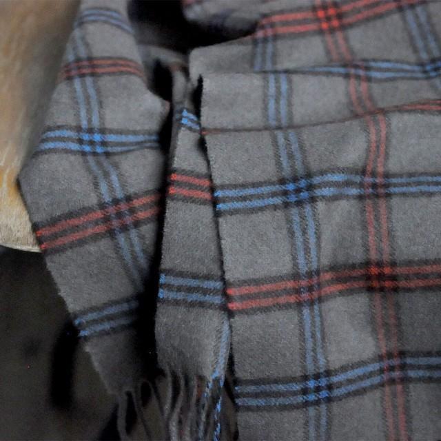 Scotland Cashmere stole -C-