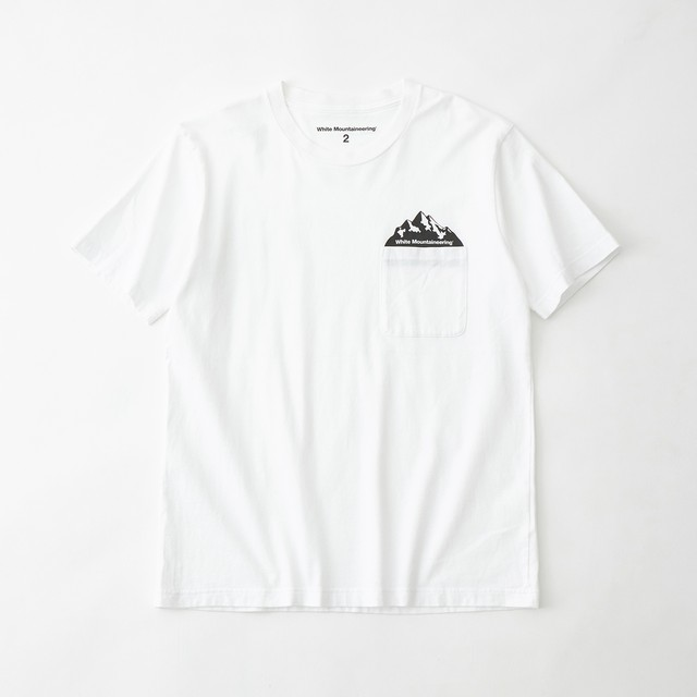 POCKET PRINTED T-SHIRT - WHITE