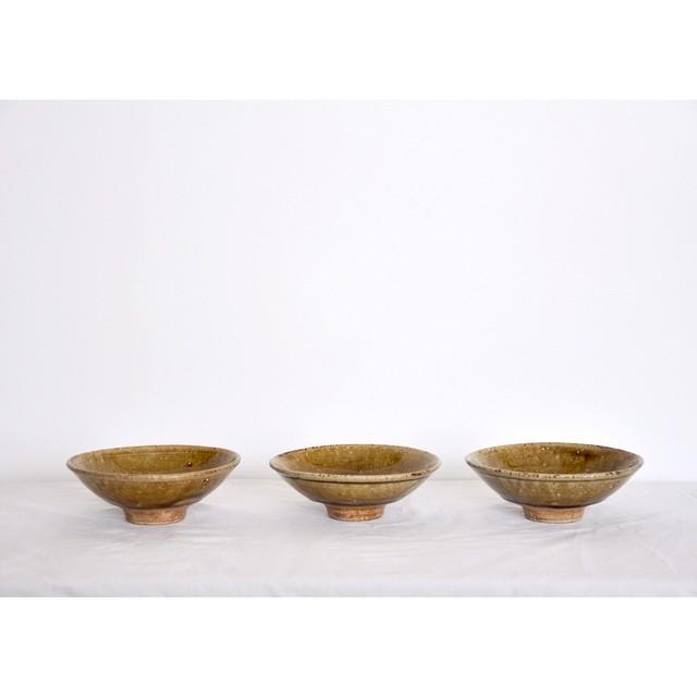 うつわ屋まる【小鉢 - 飴灰 -】hand made / 笠間焼 / japan 小皿 bowl