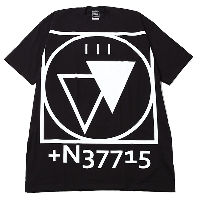 【SILLENT FROM ME】 CRYPTIC -Outsize- BLACK