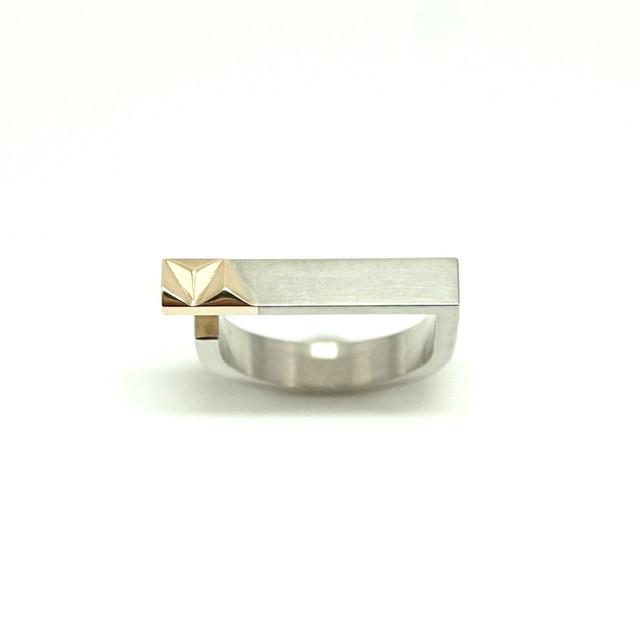 combination bar ring