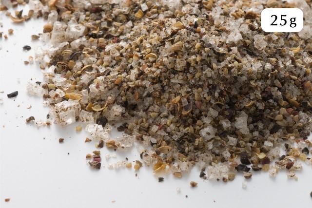 スパイスミックス 25g (カンポットペッパー、海塩、スパイス 11種類をブレンド)