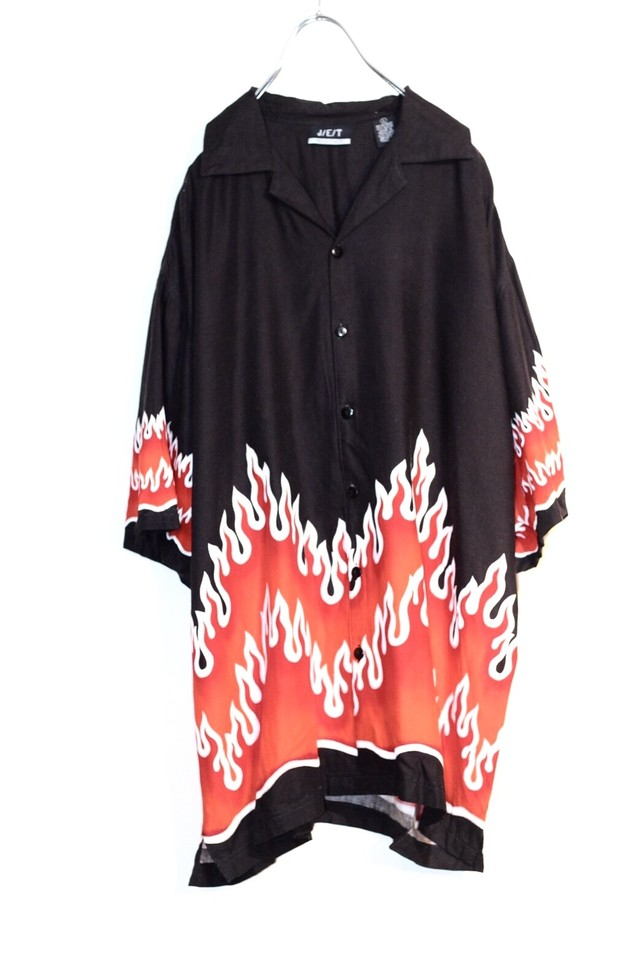 fire pattern shirt