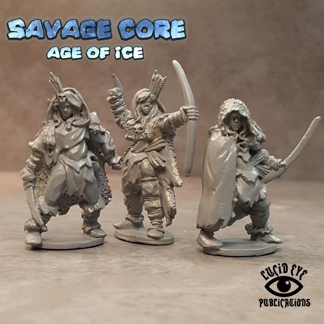 IAA1 Ice Age Amazons 1 (3 figures pack)