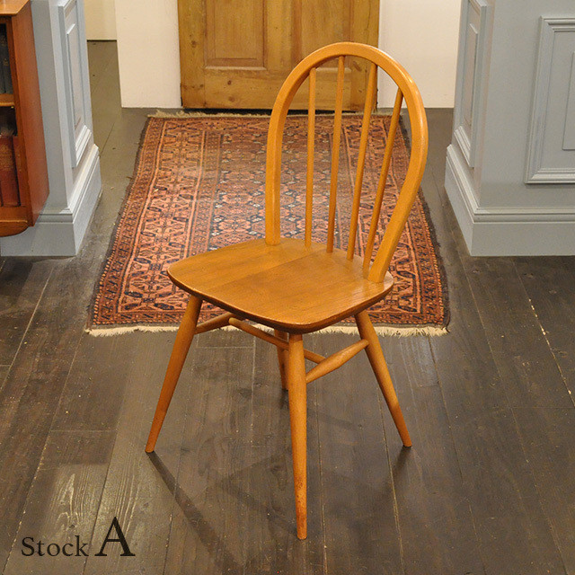 Ercol Hoop Back Chair 【A】/ アーコール フープバック チェア / 1911-0118a