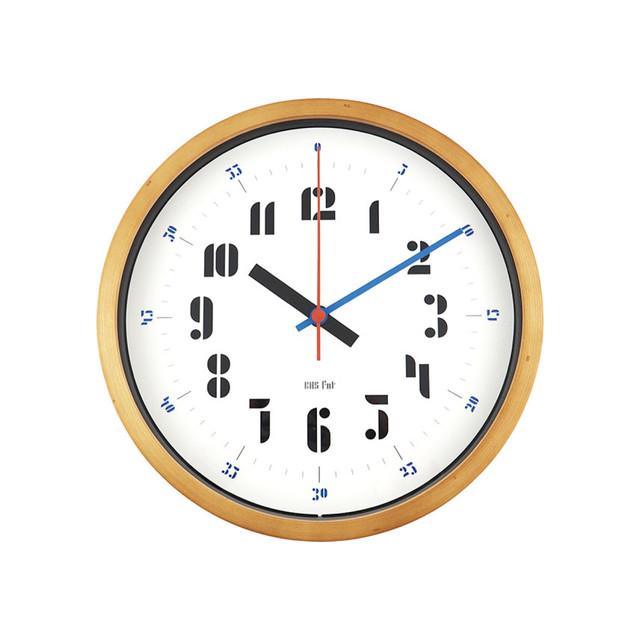 BAUHAUS Fonts Wall Clock Joschmi