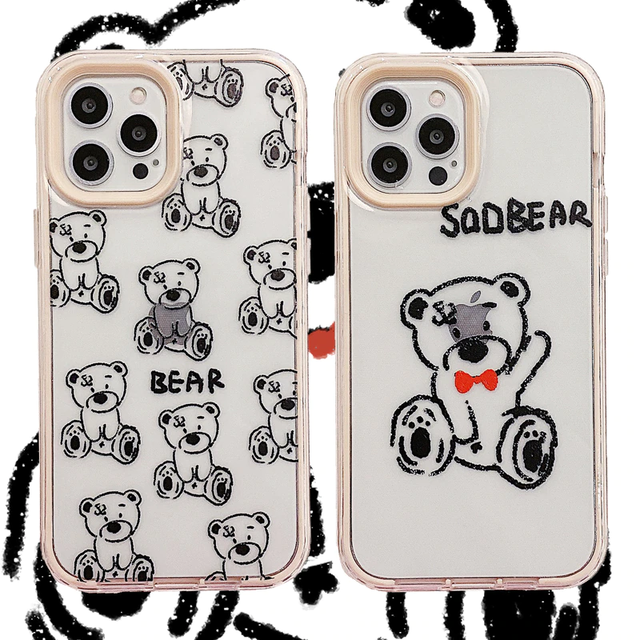 SaD BEAR  iPhone case