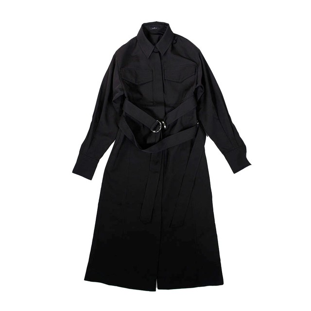 J KOO Long Shirt Dress