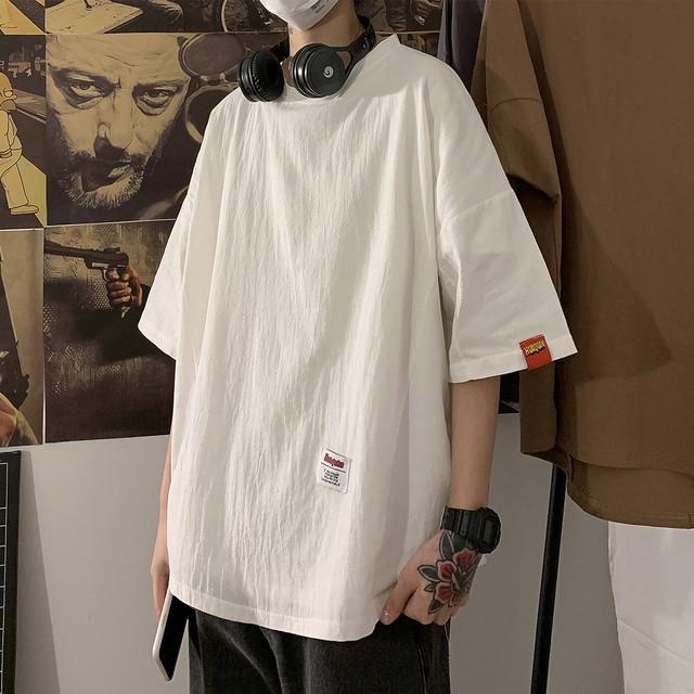 シンプルロゴのビッグTシャツ