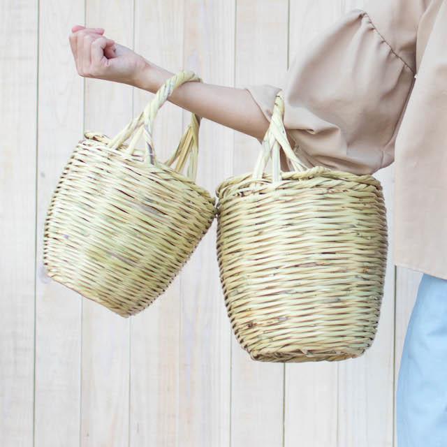 【再入荷】Jane Birkinのバスケット/スタンダードサイズ/フタなし