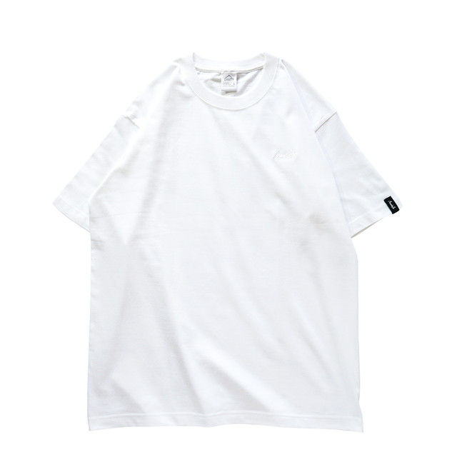 BASIC LOGO 019 S/S CT <White×White> - メイン画像