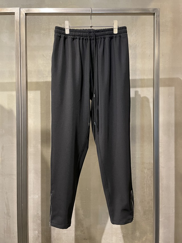 T/f G3B stretch twill track pants - black