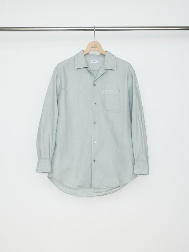 Allege Pigment Dye OP Shirt Mint ALSTN-SH02